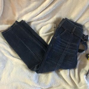 Anthropologie BNWT cropped jeans size 4